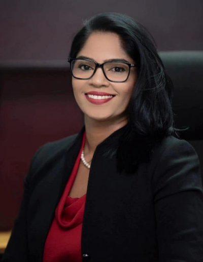 Hon. Minister Savitri Sonia Parag